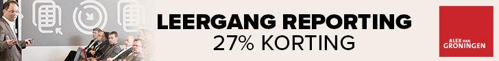 Leergang reporting